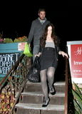 Michelle Trachtenberg arrives at Chateau Marmont hotel for Zac Efron 21 birthday party - October 19