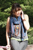 "Michaela Conlin - On Set Candids for the 100th episode of ""Bones"" - Jan 27, 2010 (x21)"